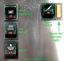 Rancilio_Silvia_espresso_machine_controls